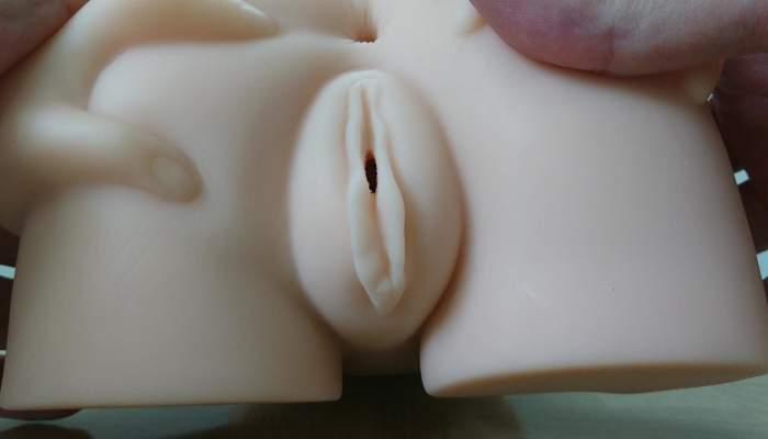淫惑アデーニョの膣口画像